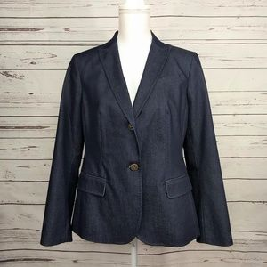 Talbots Womens Petite 12 Business Casual Blazer